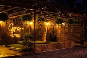 Restauracja Lemon Tree_Scena w ogrodzie