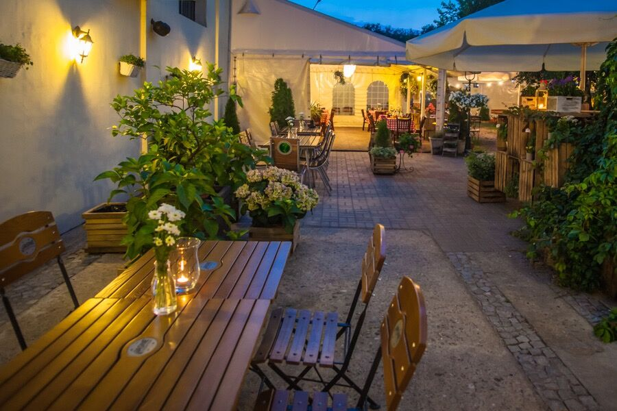 Restauracja Lemon Tree Ogród
